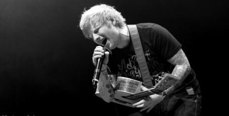 Ed Sheeran, Studios Warner, Paris, 2014/04/18